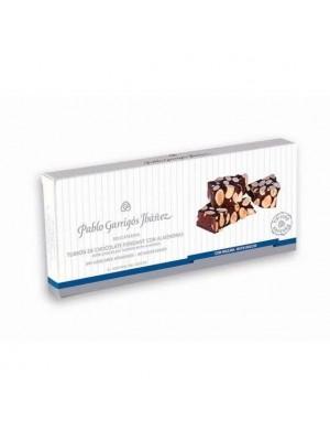 Turrón de Chocolate Fondant con Almendras Sin Azúcares añadidos Delicatessen 200g