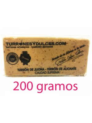 Turron Jijona Mou Espagnol, 200 g