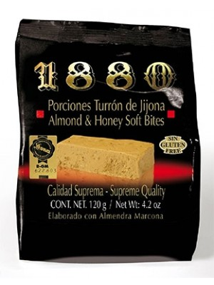 Porciones Turrón de Jijona  1880 120 g