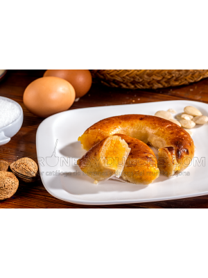 Massepain fourré au jaune d'œuf 250g