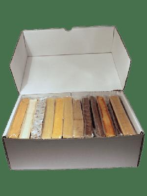 Caja diez turrones más regalo