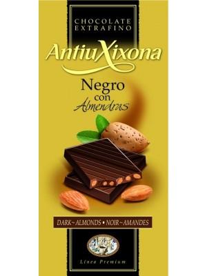 Chocolate Negro con Almendras Hacendado