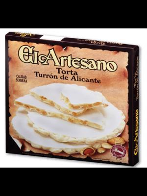 Torta_turron_alicante_artesano_Suprema_200G