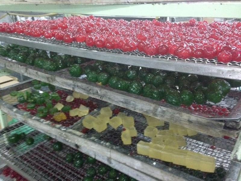 Comprar fruta glaseada