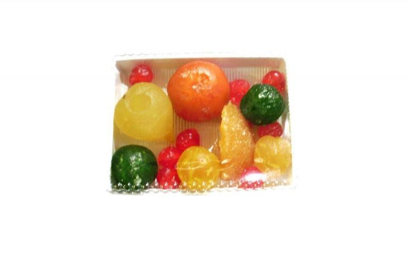 fruta glaseada