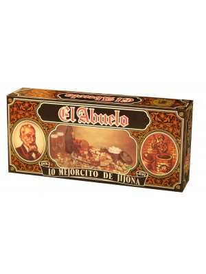 Lote 6 – Estuche cartón dorado El Abuelo