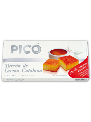 Turrón de Crema Catanala sin azúcar