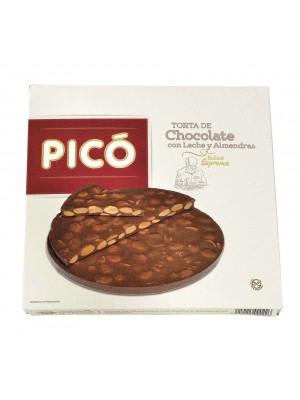 Caja de 15 unidades de Tortas de Turrón de Chocolate con Almendras Pico