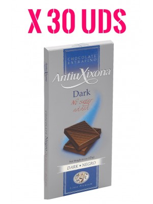 Chocolate Negro sin Azúcar extrafino Premium Caja