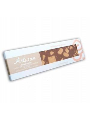Chocolate con leche con turrón de Jijona Artisan Collection 220 g - Pablo Garrigós Ibañez