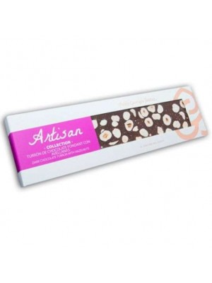 Turrón de Chocolate Fondant con Avellana Artisan Collection 220g