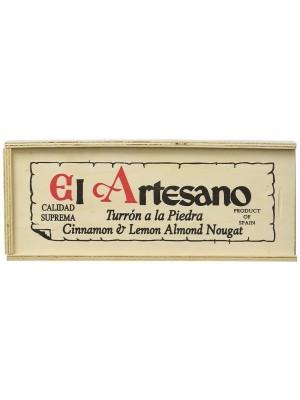Turron a la piedra de la marca El Artesano 300 gramos