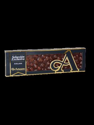 Selección Exclusiva Chocolate Puro 220 gr. 50% Avellana - El Artesano