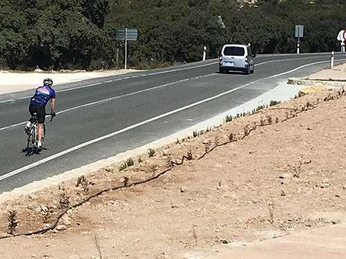 Rutas en bici en la carrasqueta