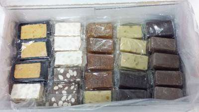 caja de porciones