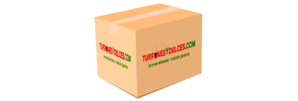 Envío de cajas de turrón