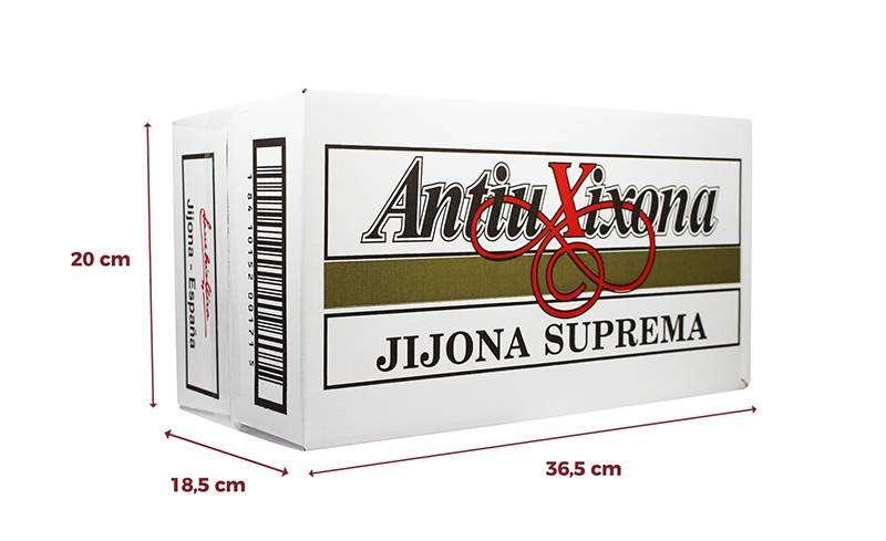 Etiqueta blanca Antiu Xixona